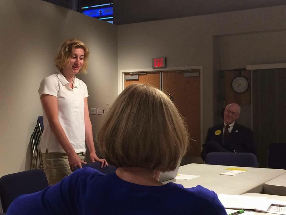 Speaking in Howard County